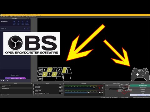 OBS Tips 2020: Show Keyboard And Gamepad Input Overlay on Gaming Videos &  Live streams