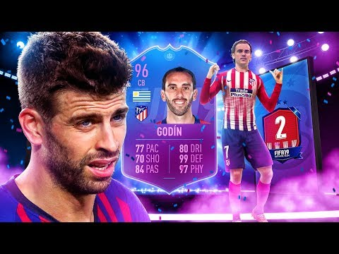 BETTER THAN TOTS PIQUE?! 96 END OF ERA GODIN PLAYER REVIEW! FIFA 19 Ultimate Team