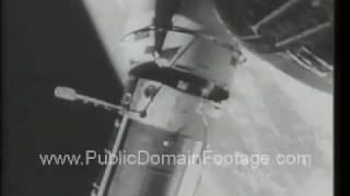 1966 Gemini 9 Space Walk Newsreel PublicDomainFootage.com