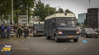 Regio 024 - Demonstratie N.E.C. supporters Keizer Karelplein Nijmegen (09-08-2015)