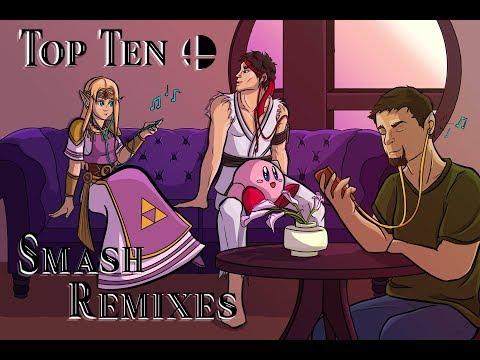 Top Ten Super Smash Bros Ultimate Remixes thumbnail