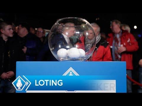 Loting 1e ronde KNVB Beker 2017/'18