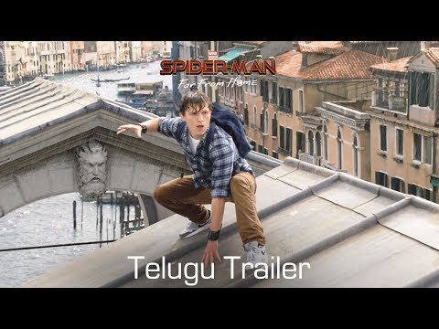 SPIDER-MAN: FAR FROM HOME - Official Trailer | Telugu | In Cinemas July 5
