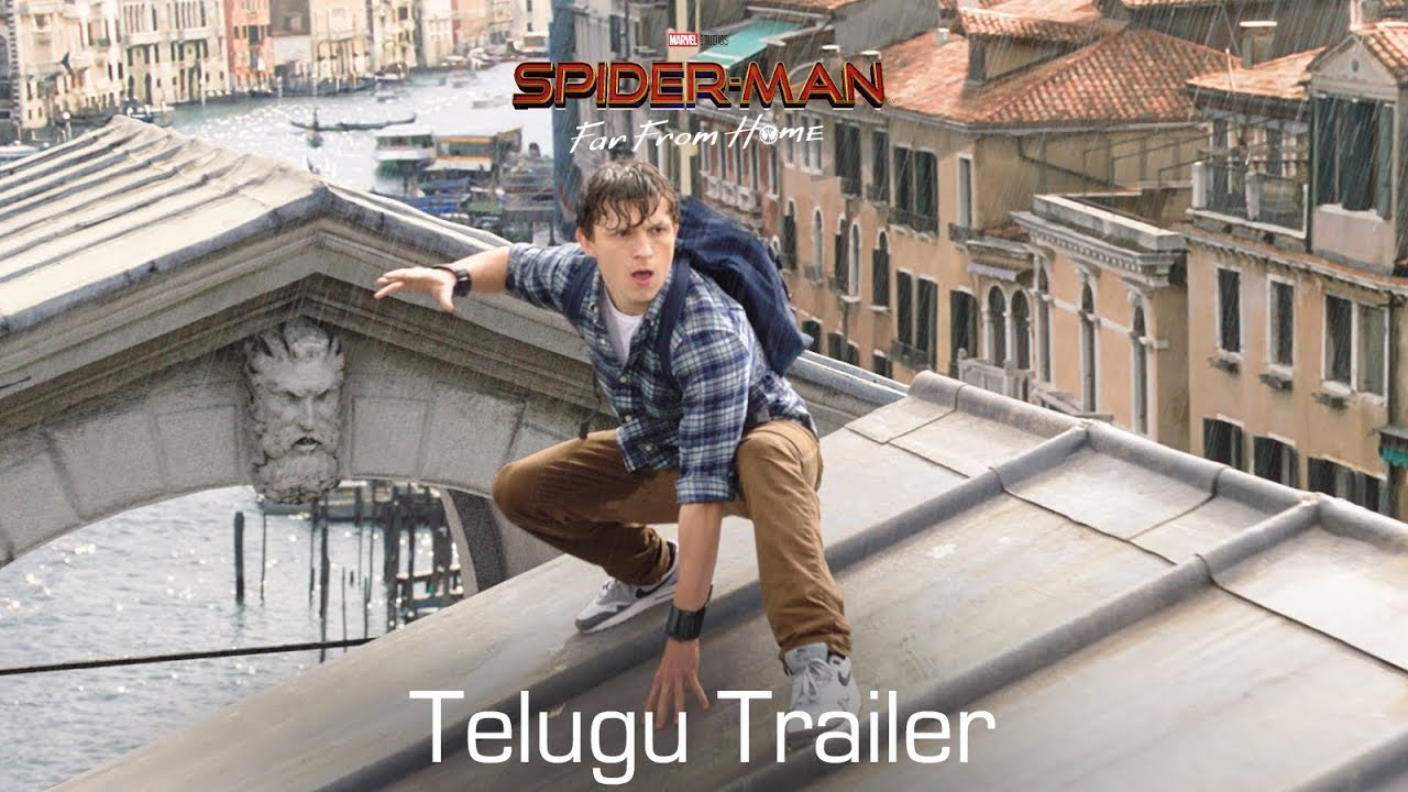 Download SPIDER-MAN: FAR FROM HOME - Official Trailer | Telugu | In Cinemas July 5