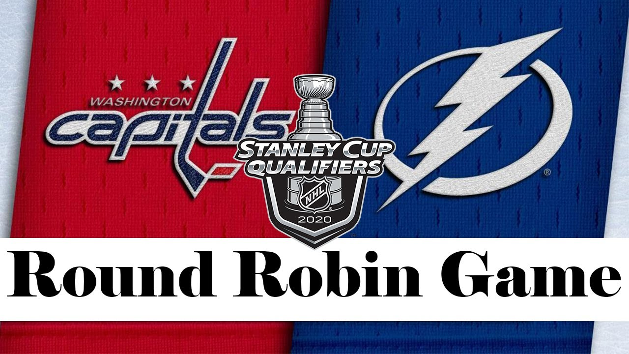 Washington Capitals vs Tampa Bay Lightning | Aug.03, 2020 | Round Robin Game | NHL 2019/20 | Обзор M
