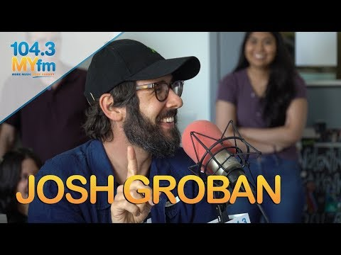 Josh Groban On New Album, How He Got His Start + Does A Dramatic Reading Of 'Granted'