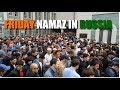FRIDAY NAMAZ AT VERY BEAUTIFUL MOSQUE IN MOSCOW | Indian in Russia