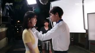 Video High Society - Making Film ChangYi Couple Kiss Scene download MP3, 3GP, MP4, WEBM, AVI, FLV Maret 2018