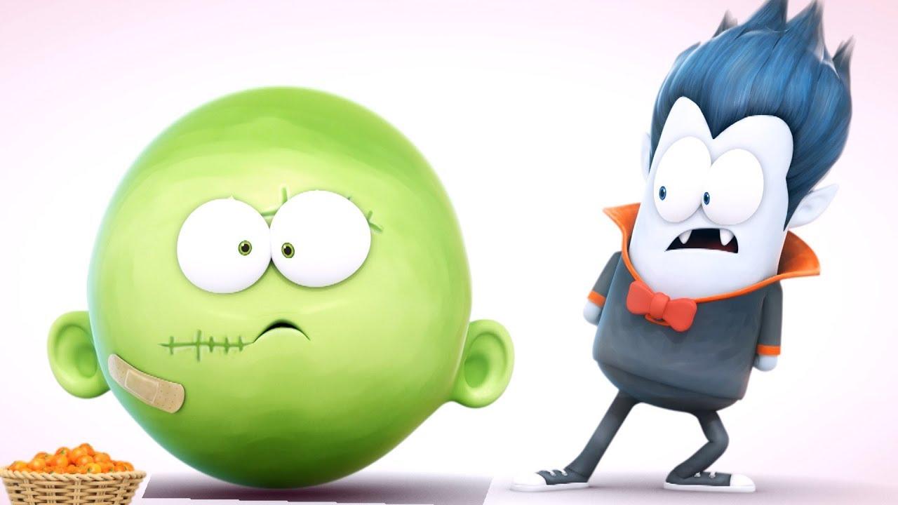Spookiz What Happened 스푸키즈 Funny Cartoon For Kids Youtube