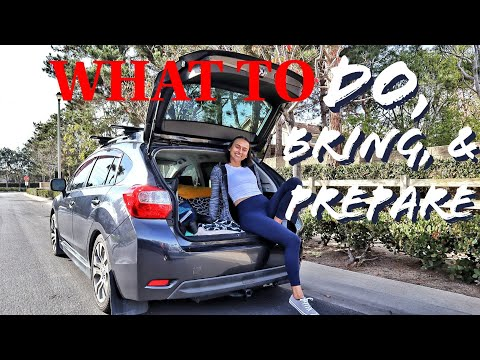 SOLO ROAD TRIP TIPS (MY TOP 20)