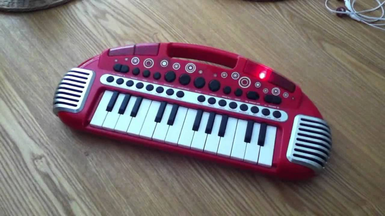 Toy Keyboard Plays Bon Jovi Living On A Prayer Youtube Circuit Bent Casio Sk1 Sampling Aliendevices