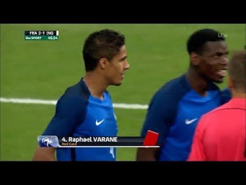 Raphael Varane vs England Home   13/06/17  