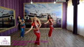 Восточные танцы - урок №1, тренер - Ксения Гаврилова