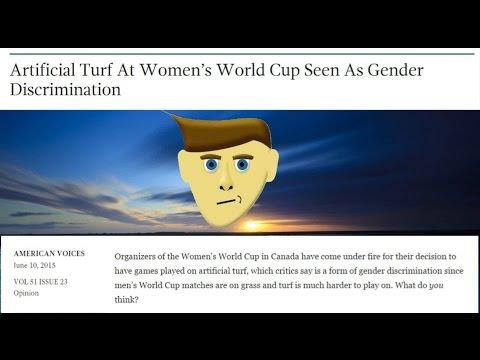 Gender Discrimination At Women's World Cup