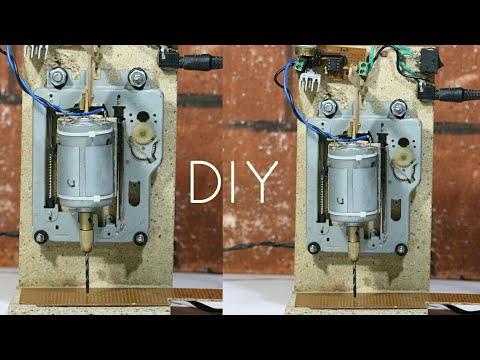 DIY Professional mini PCB Drill Machine - weekend fun