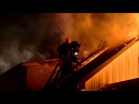 Rescue FD Working Fire - 132 Wanda Ave
