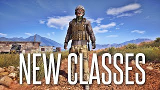 NEW CLASSES ARE GREAT! - Ghost War PVP Early Access Gameplay