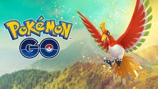 MY FIRST EVER HO-OH RAID BOSS IN POKEMON GO!
