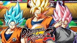 TRIPLE GOKU FOLIE !   Dragon Ball Fighterz