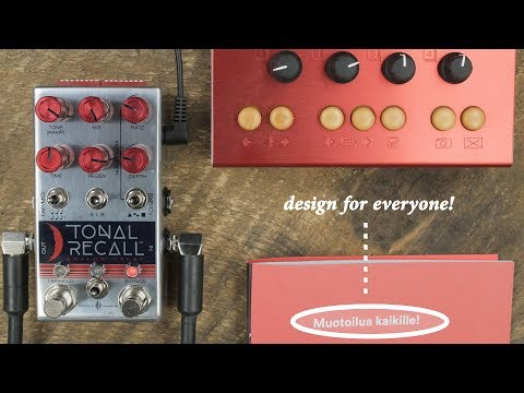 Chase Bliss - Tonal Recall: Red Knob Mod