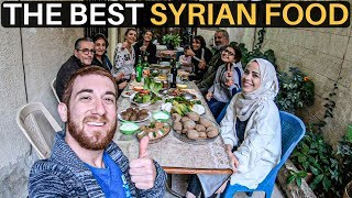 THE BEST SYRIAN FOOD (Home Cooked Meal)