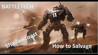 BATTLETECH How to Salvage - Two Best Strategies in Game to get Enemy Mech Salvage