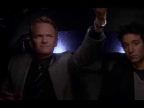 Funny Persian Limo Driver Speaks Farsi on How I Met Your Mother Season 3, Episode 17, Minute 15