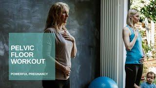 Pelvic Floor Exercise During Pregnancy | Preparing for Birth | Powerful Pregnancy | Jane Wake