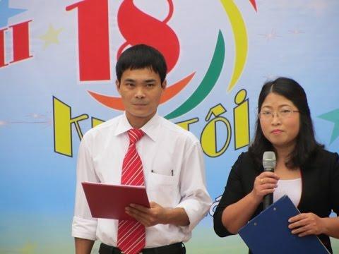Màn Chào Hỏi Của Trường THPT Trần Thị Dung Trong Chương Trình KHI TÔI 18