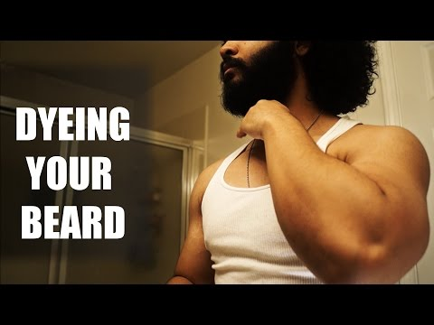 How to Dye Your Beard (Just For Men | Bigen)