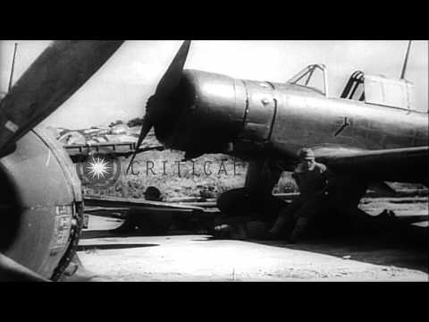 Allied Forces land In Japan depicting the surrender of Japan to the Allied forces...HD Stock Footage