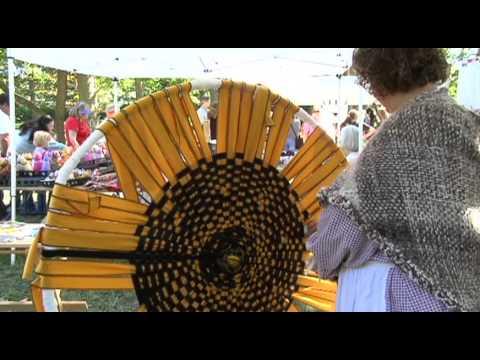 Wheel Weaving Demonstration