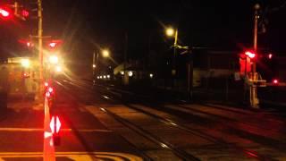 MTA LIRR Bombardier M7 8:48pm Train to Port Washington entering Little neck around 9:20pm