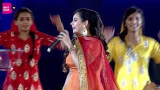 Sunanda Sharma Performs Live at Punjabi Film Awards 2018