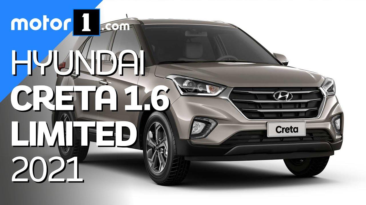 Novo Hyundai Creta Limited 1.6 2021 traz equipamentos de série da versão Prestige