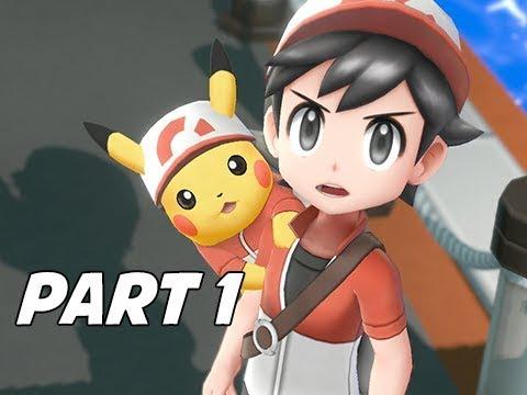 POKEMON LETS GO PIKACHU & EEVEE Walkthrough Gameplay Part 1 - Pallet Town