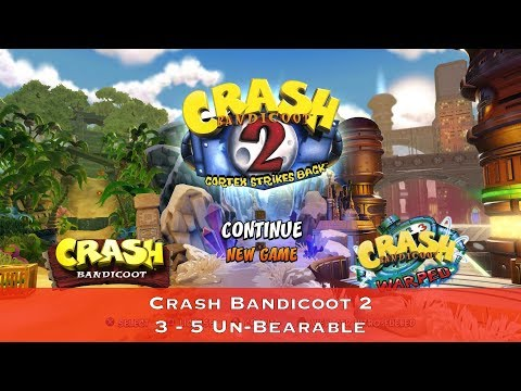 Crash Bandicoot 2 - 3 - 5 Un-Bearable - Сбор всех кристаллов