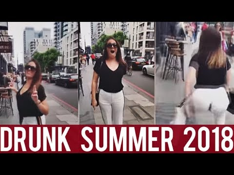 Drunk Summer 2018    New Funny Compilation!    Drunk People Fails!    Year 2018!