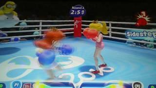 Peach VS. Daisy (Boxing)