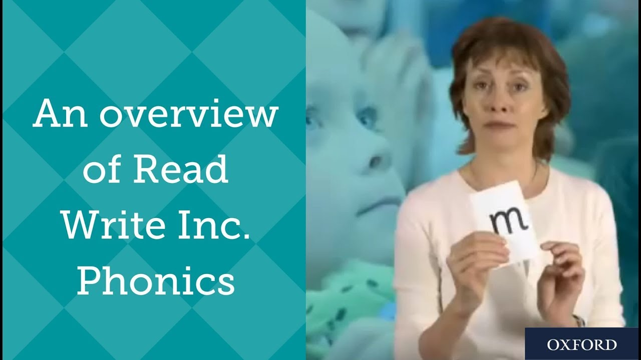 Read Write Inc Phonics An Overview By Ruth Miskin Youtube
