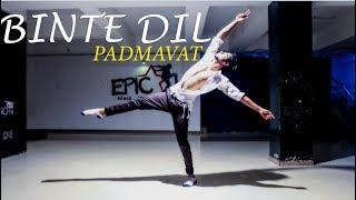 Padmaavat: Binte Dil |Arijit Singh | Ranveer Singh | Dance Choreography @Ajeesh krishna