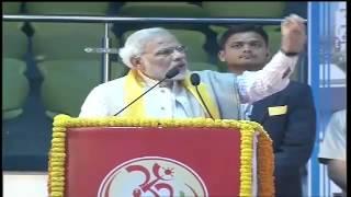 Shri Modi addressing foundation day celebration of Bharat Swabhiman and Divya Yog Trust Speech