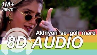 Ankhiyon Se Goli Mare (8D Audio Song) 🎧 - Dulhe Raja Sonu Nigam | Govinda | Raveena Tandon