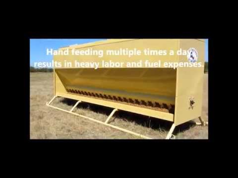 Auto Easy Feeder, The Best Cattle Feeders!!! Automatic and Programmable Livestock Feeders