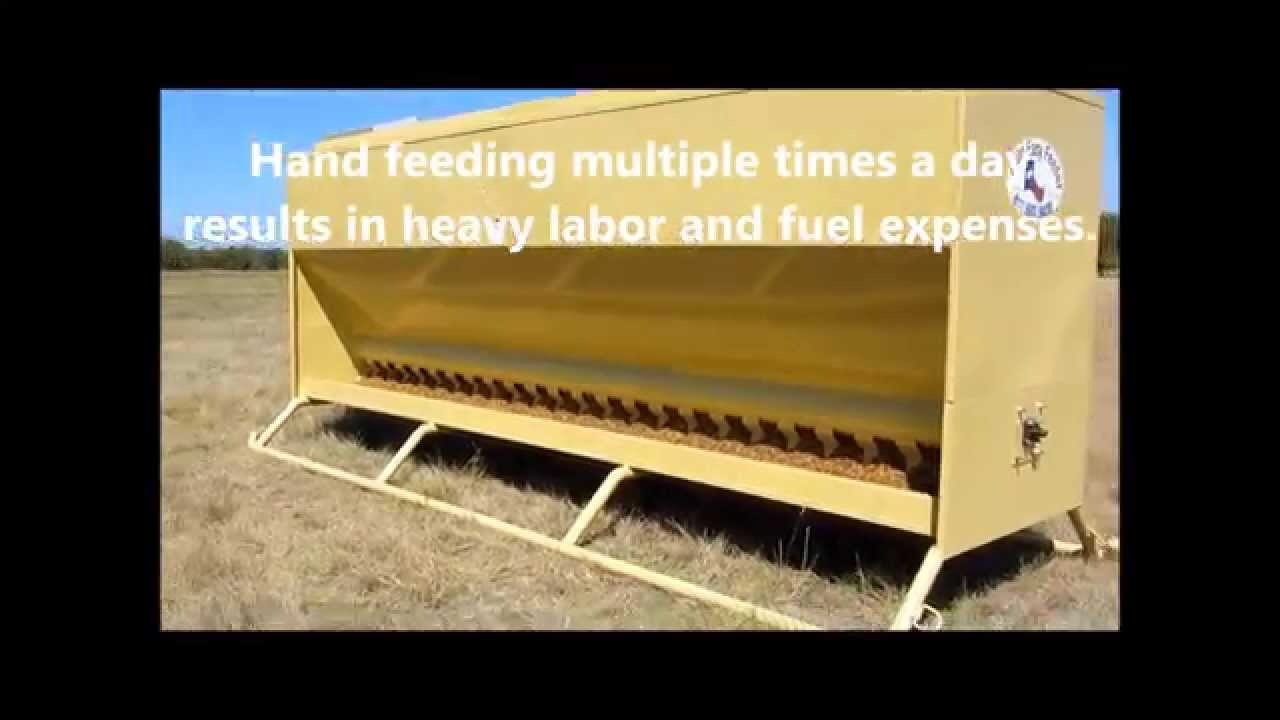 Auto Easy Feeder The Best Cattle Feeders Automatic And