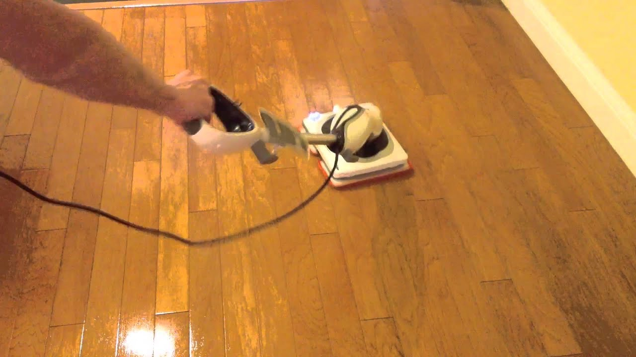 Shark Sonic Duo Hardwood Polishing Demo Youtube