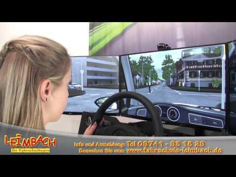Fahrsimulator Fahrschule Leimbach Bad Brückenau Feedback Video 1 von 3