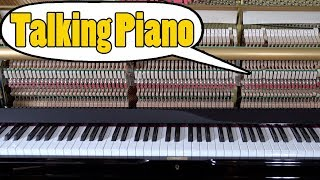 Talking Piano - Can You Understand What the Piano Says and Sing?