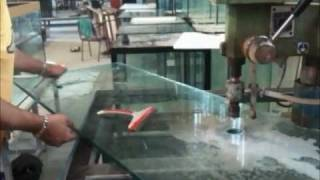 19 mm glass aquarium - Opening polishing drilling