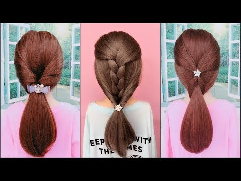 Easy Hairstyles Tutorials For Girls ❤️ TOP 15 Amazing Hairstyles Compilation 2019 ❤️ Part 1 ❤️ HD4K